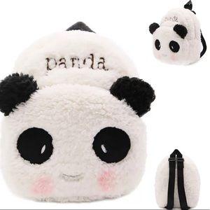 Plush Kids Panda Backpack